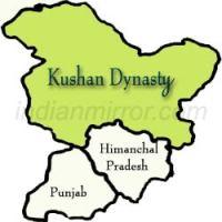 Map of Kushan Dynasty