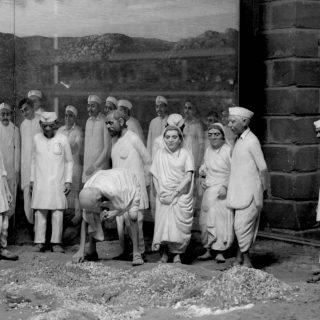 Gandhi in Champaran District
