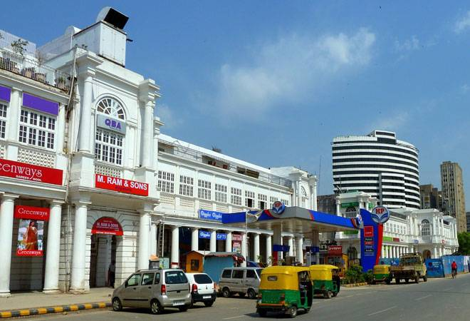 Connaught Place in Delhi