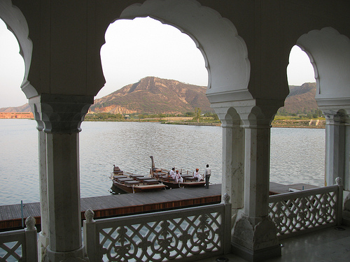Architecture of Jal Mahal