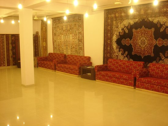 Interiors of Jal Mahal
