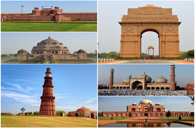 Touristic places in Delhi