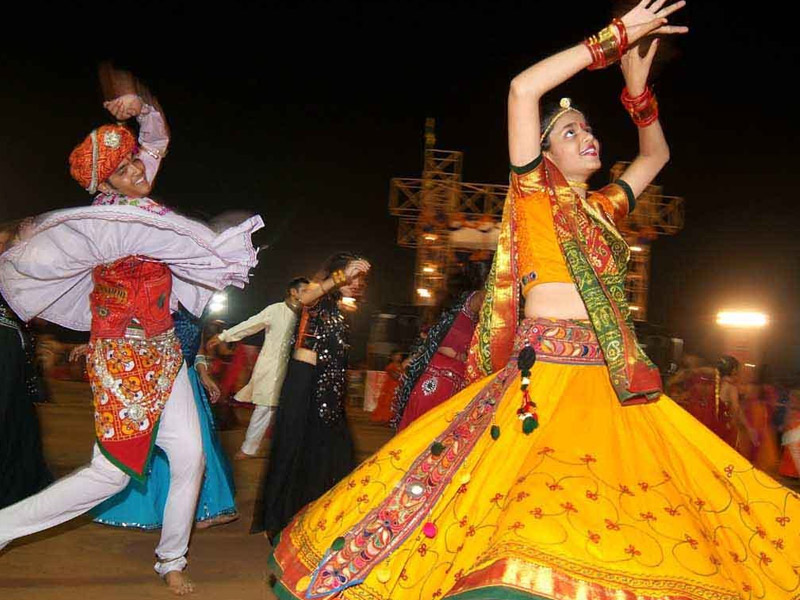 Folk dance of West and Central India