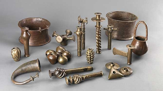 Tools used by Chalcolithic people