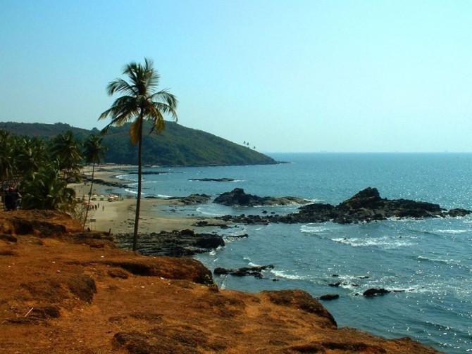 Mandrim Beach Goa