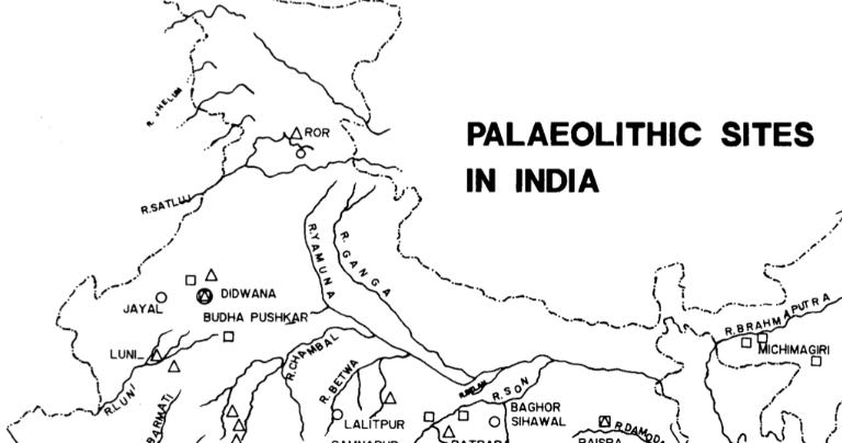 Palaeolithic sites