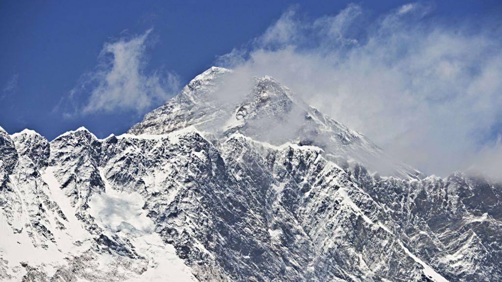Major peaks in the himalayas