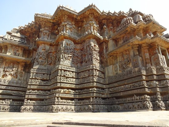 Carvings of the temple