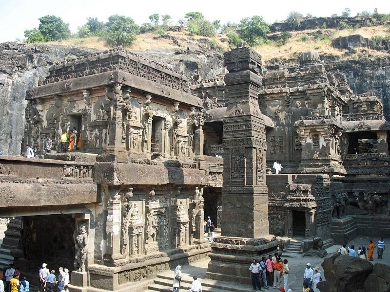 Cave 16--Kailasa temple