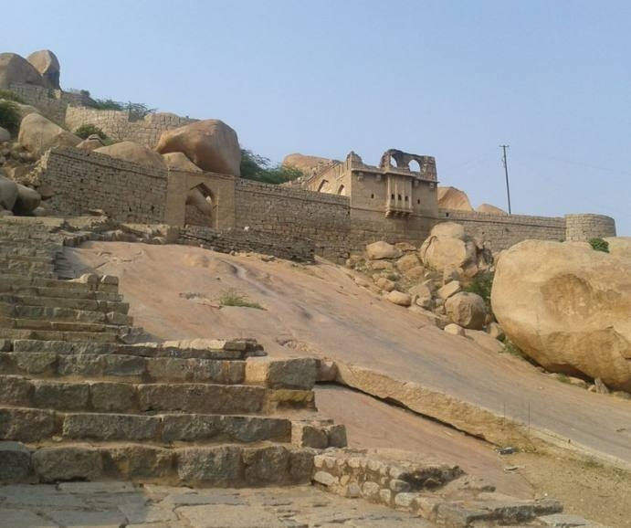 Another view of Bellary Fort