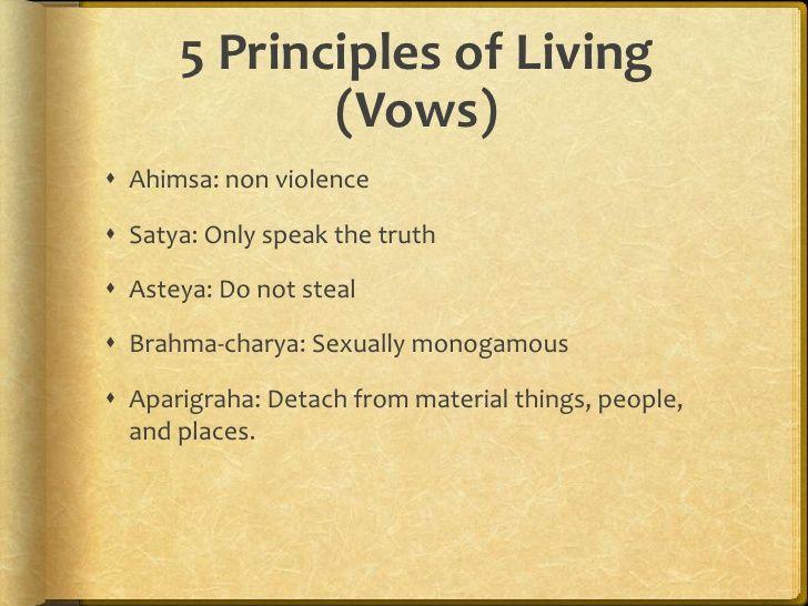 five vows in Jainism