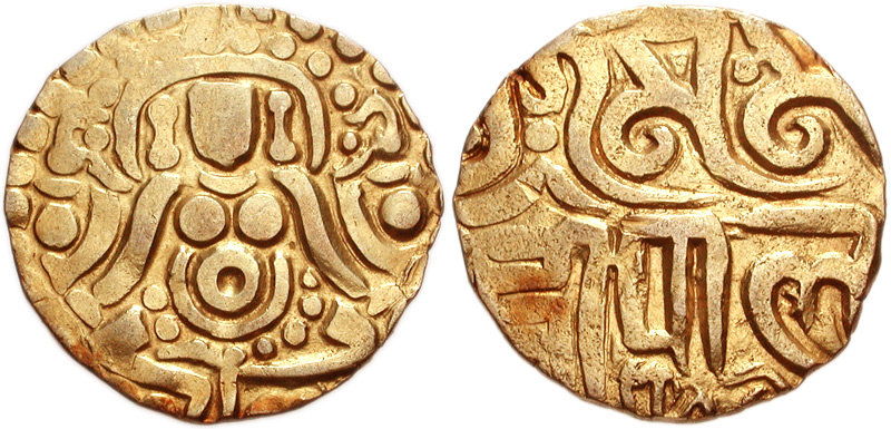 Coins used in Pala dynasty