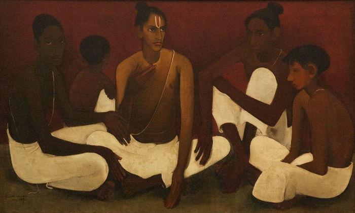 Amrita Sher Gill painting