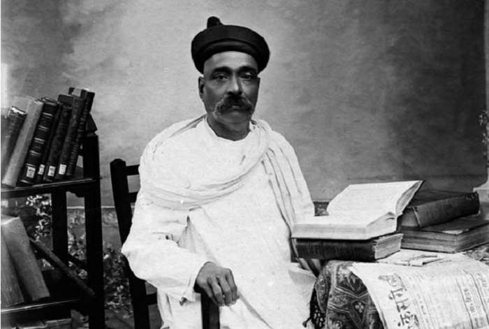 Bal Gangadhar Tilak busy with books