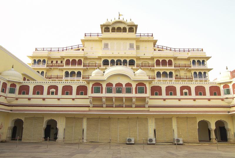 Chandra Mahal in city palace