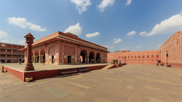 Entrance of the city palace