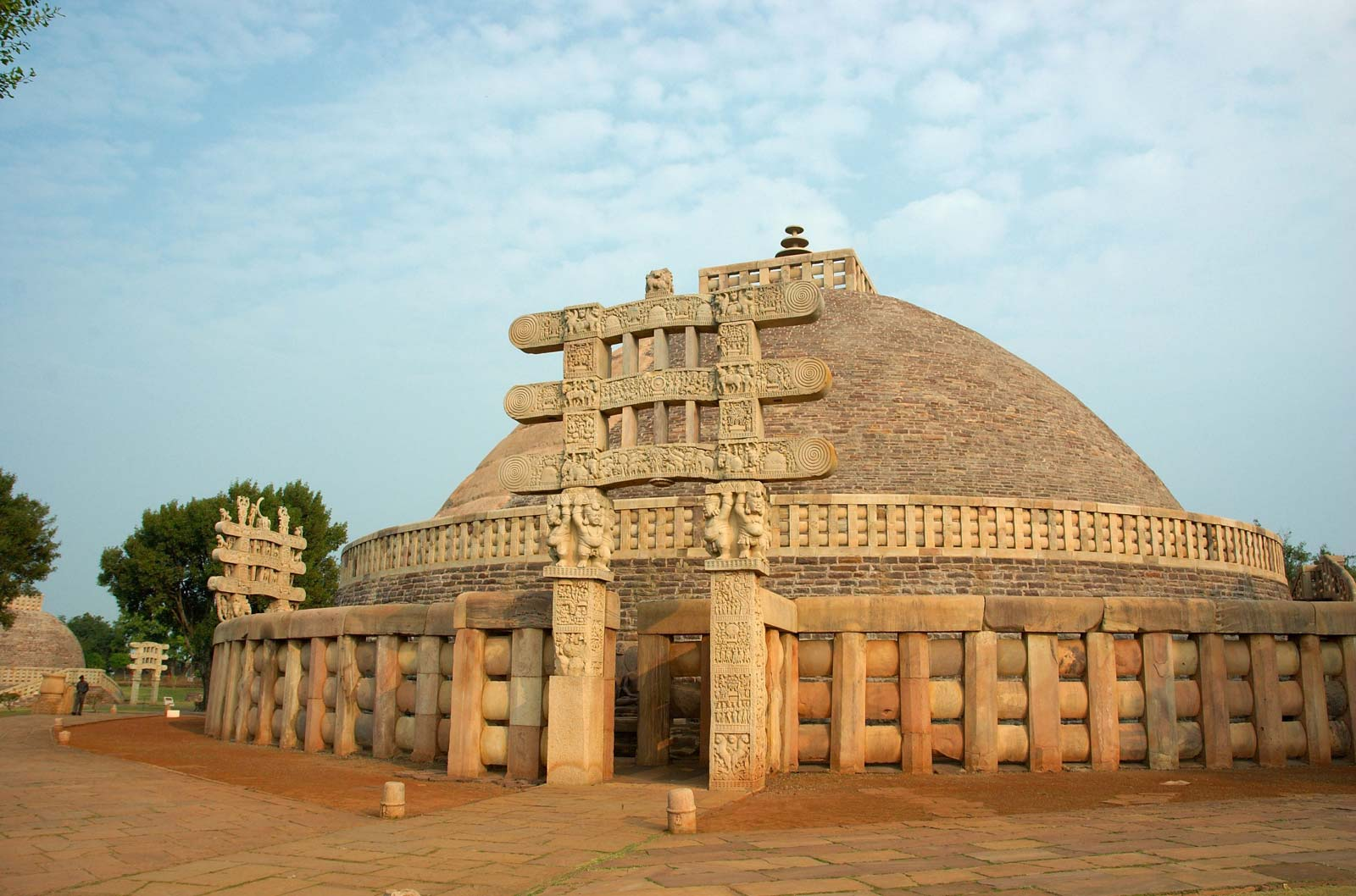 The great Sanchi Stupa