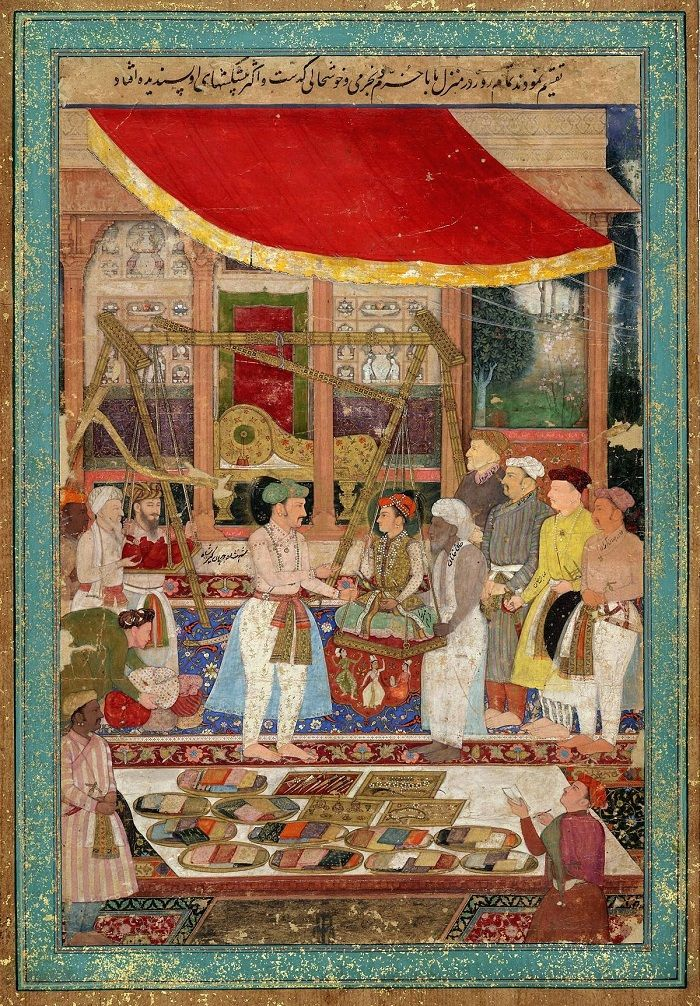 Mughal school of painting