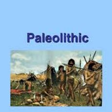 People in Palaeolithic age
