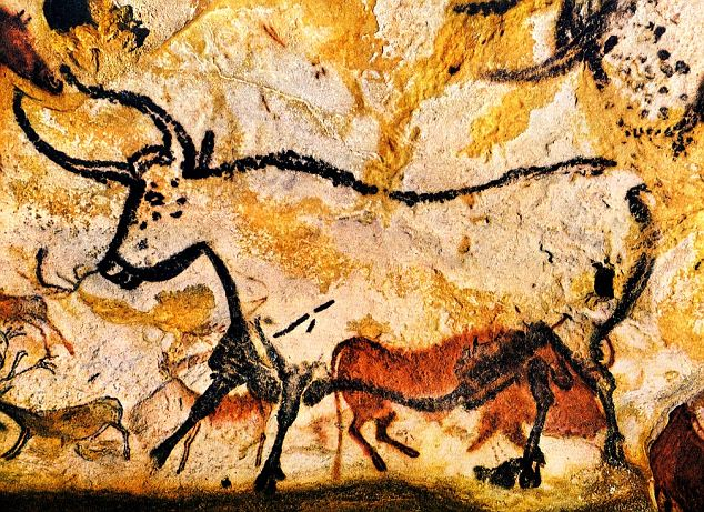 Paintings in Palaeolithic age
