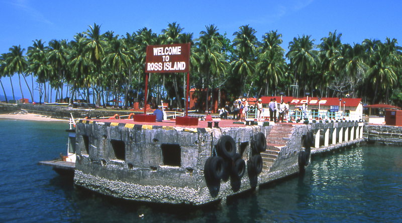 Ross Island in Andaman and Nicobar Islands
