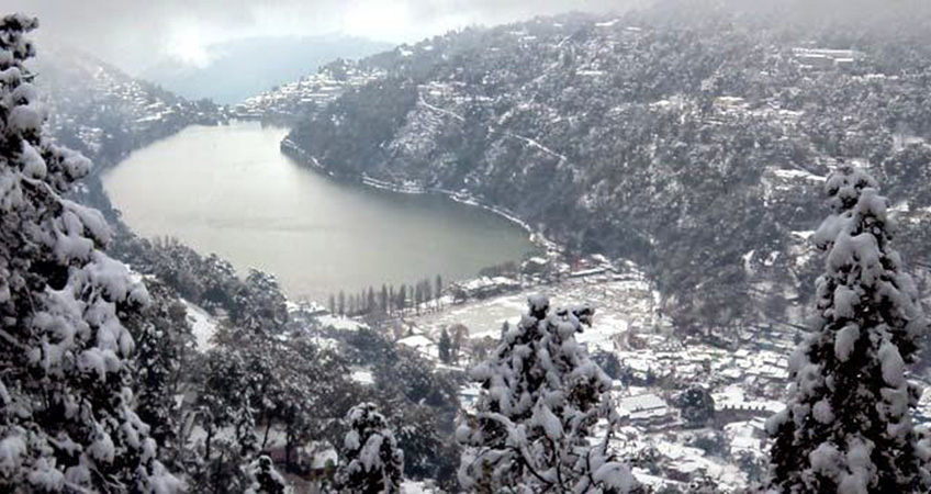 Snow view point in Nainital