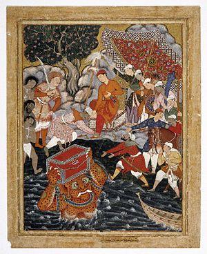 Abd-al-Samad Painting