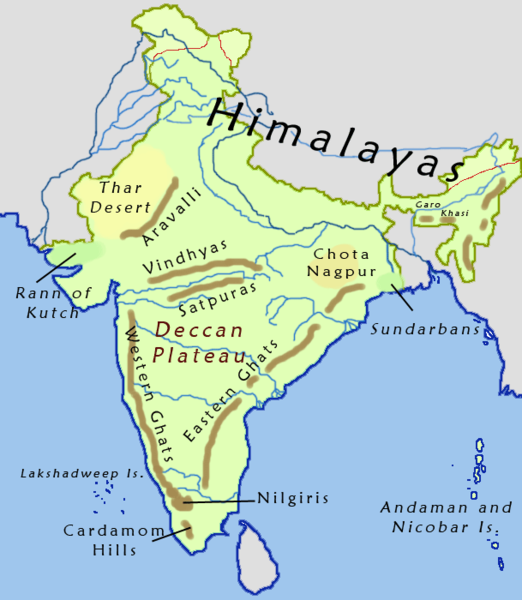 Ancient India Geography