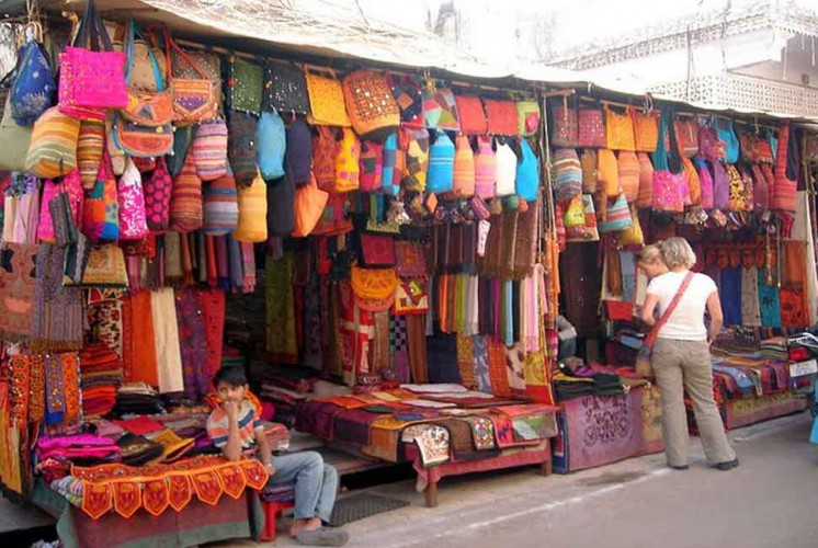 Chandapole Bazaar and Kishanpol Bazaar