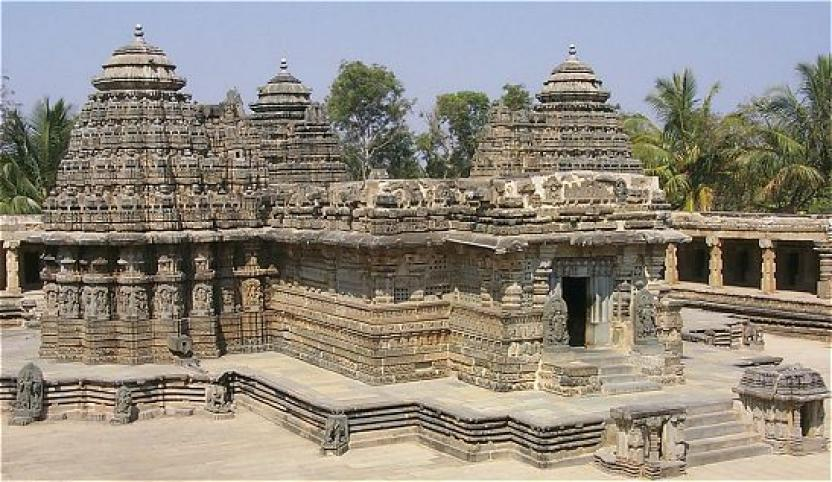 Chennakeshava temple--Belur