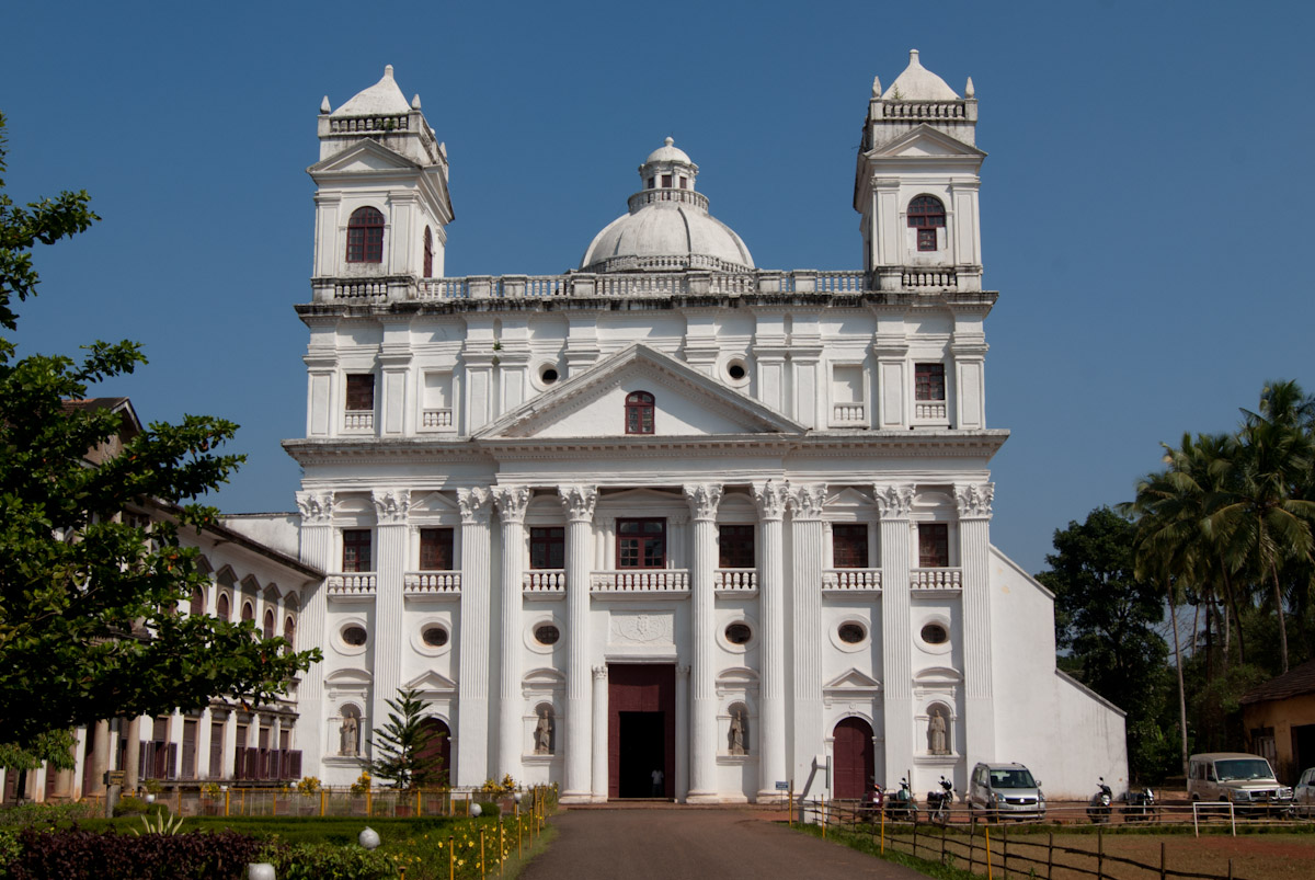 Our lady of Grace Church in Goa