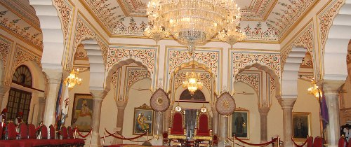 Interiors of city palace