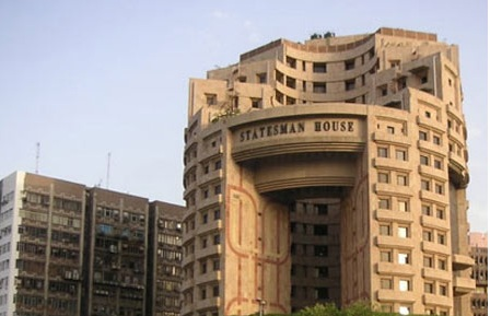 Important office in Connaught place