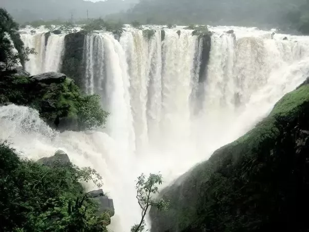 Waterfalls in Deccan plateau