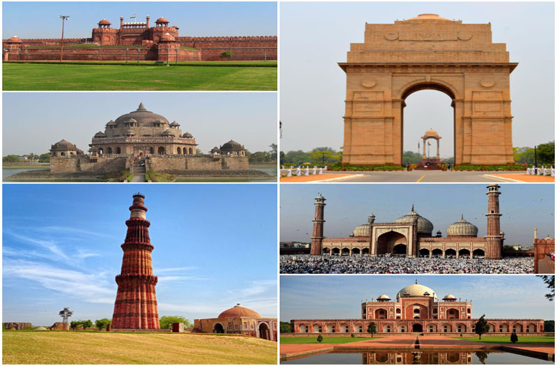 Touristic places in Delhi