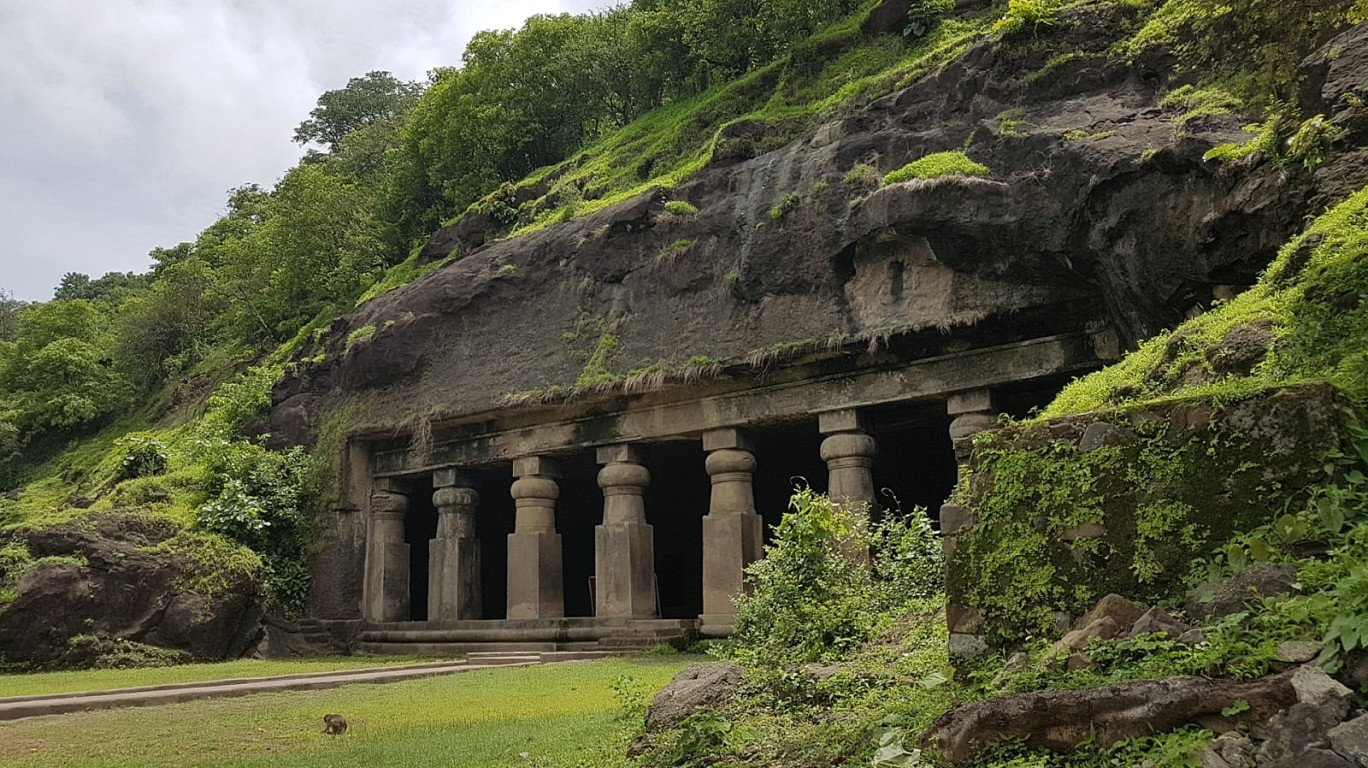 Elephanta Caves in Mumbai
