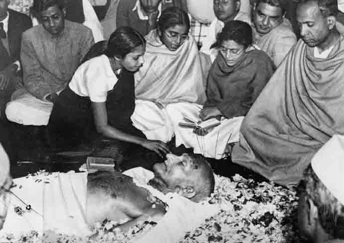 Death of Mahatma Gandhi