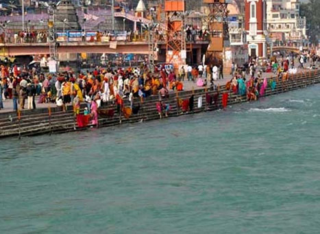 Pilgrimage places in Ganga Basin
