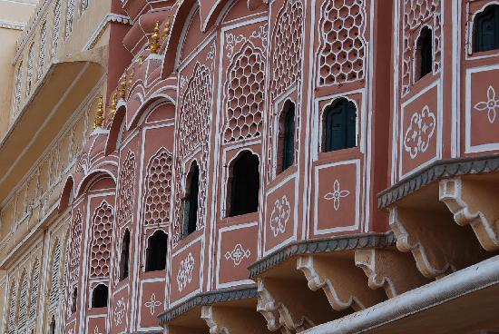 Architecture of Hawa Mahal