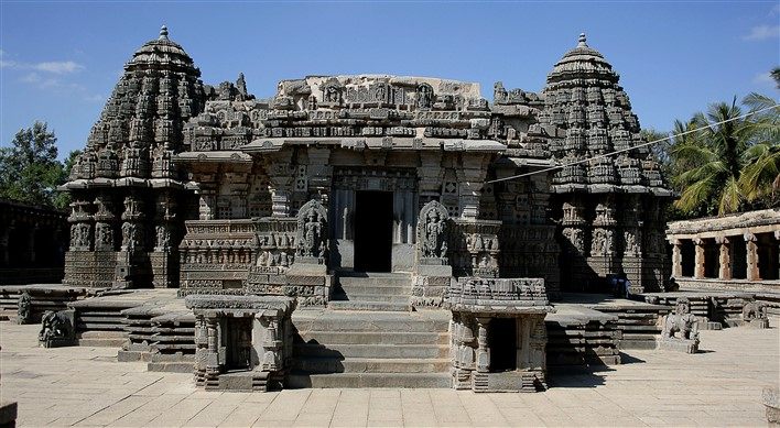 Beautiful architecture during Hoysala dynasty