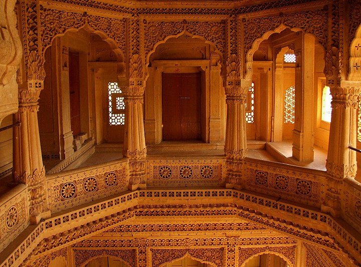 Architecture of the Jaisalmer Fort