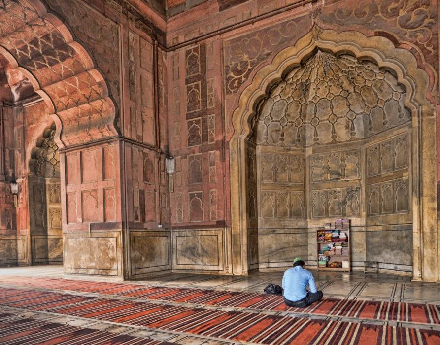 Interiors of Jama Masjid