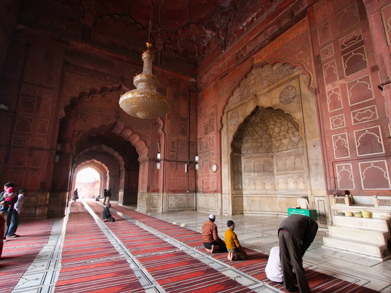 Architecture of Jama Masjid