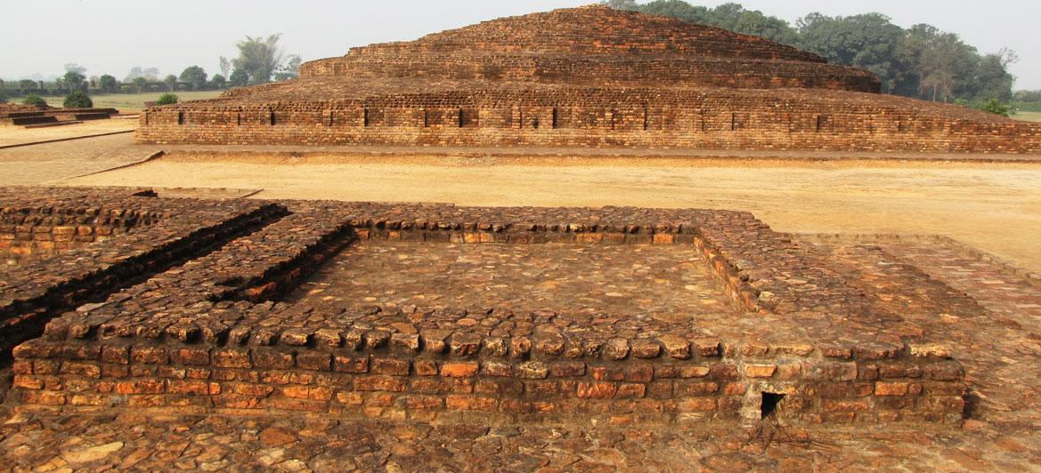 Stupa at Kapilavastu