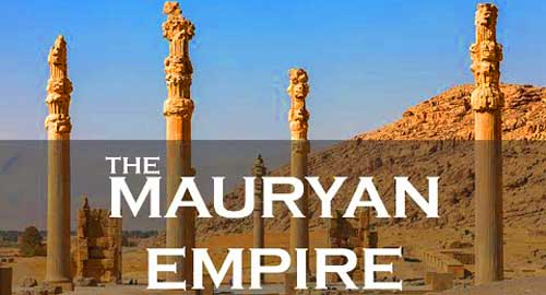 an introduction to the history of the mauryan dynasty This lesson explains about the art forms of mauryan period.