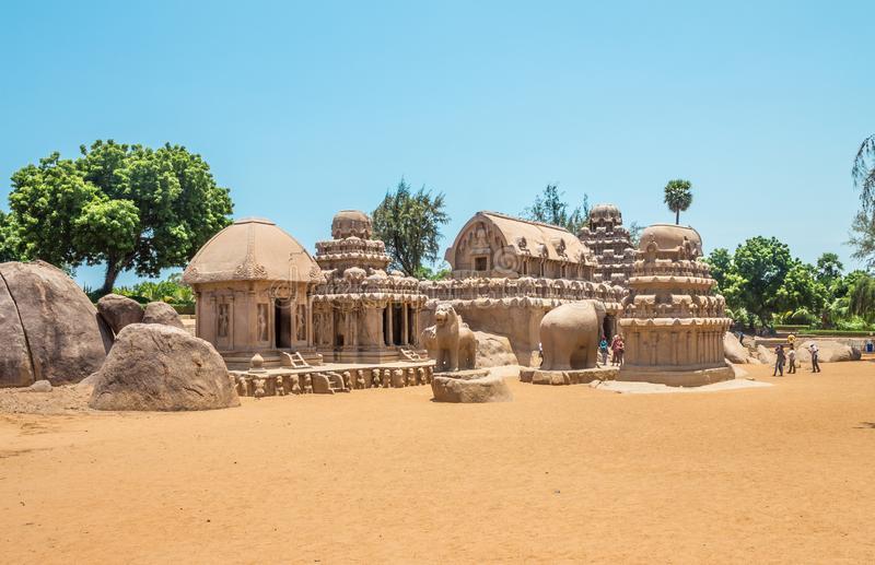 Pancha Ratha in Mahabalipuram Tamil Nadu