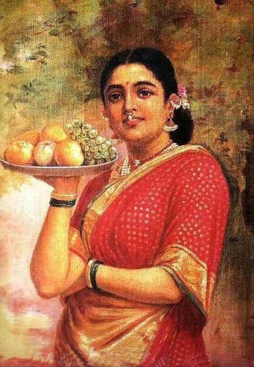 Painting of Raja Ravi Varma