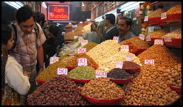 Shops in Sadar Bazar market
