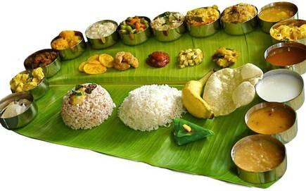 Sadhya in Kerala