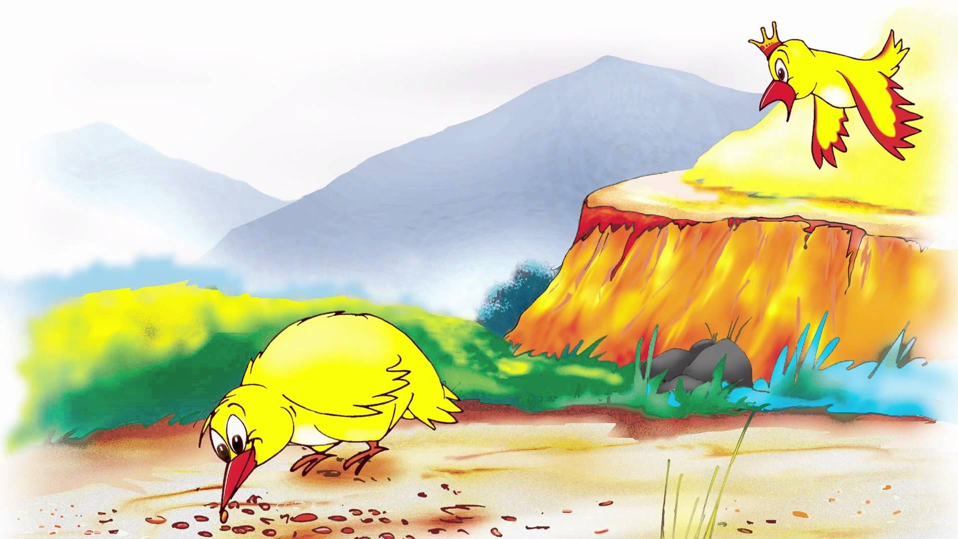The Jataka Tale of the Deceitful Bird